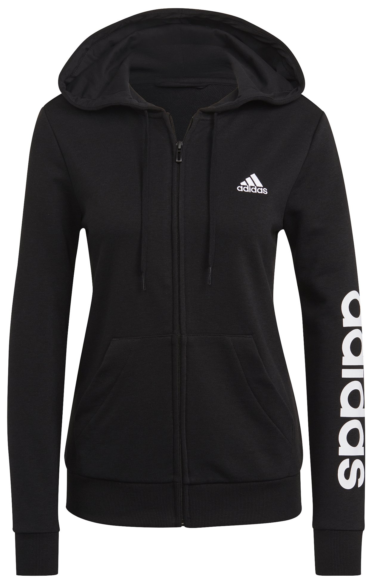 Adidas Essentials Logo Full-Zip W XS