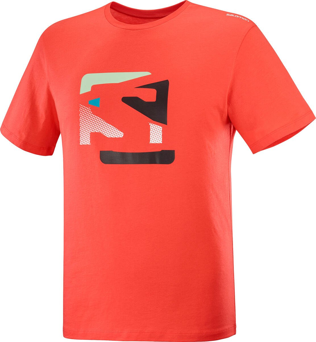 Salomon Outlife Graphic Disrupted Logo Tee M M