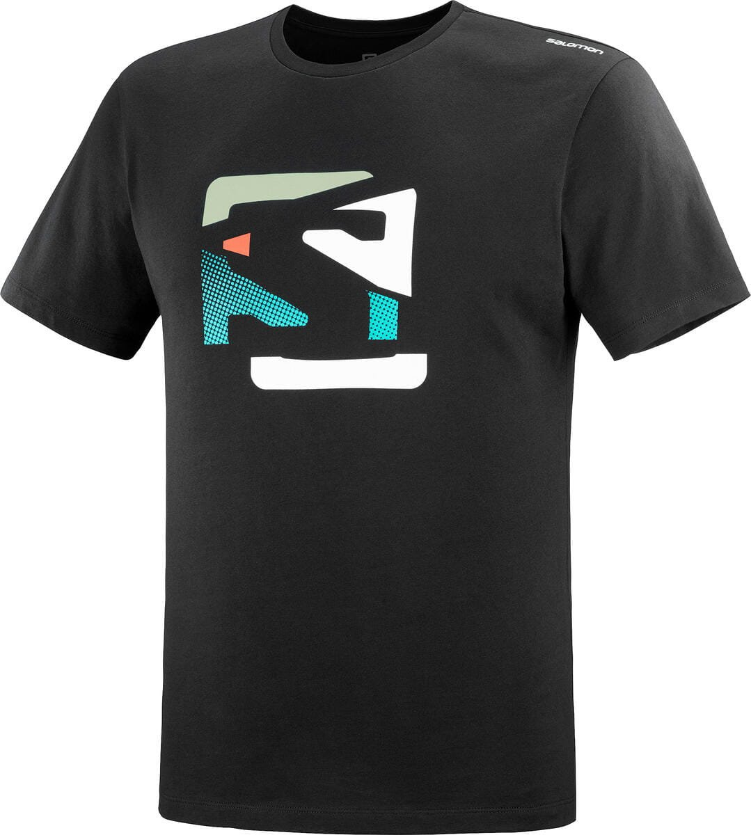 Salomon Outlife Graphic Disrupted Logo Tee M S