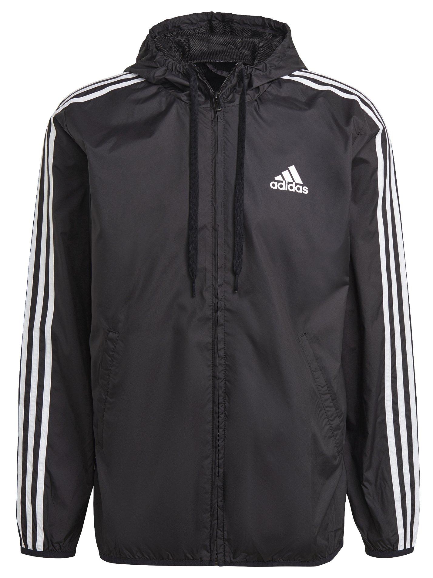 Adidas Primegreen Essentials 3-Stripes Windbreaker S