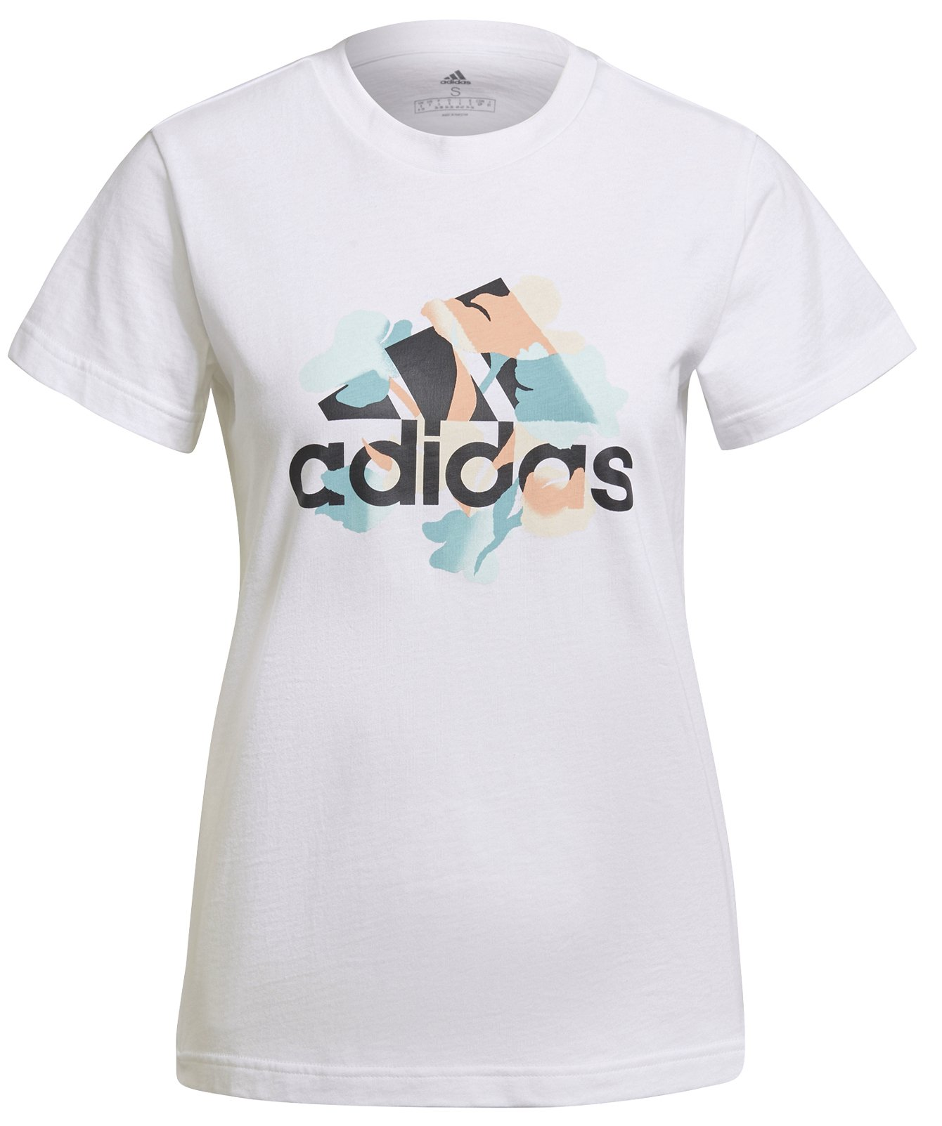 Adidas Floral Graphic Tee W XS