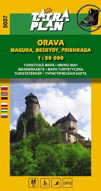 Orava Magura, Beskydy 1:50 000