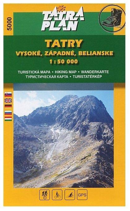 Tatry: Vysoké, Západné, Belianske 1:50 000, SJ