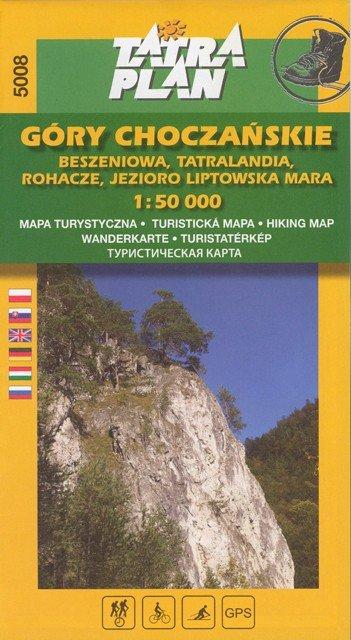 Chočské vrchy, Roháče 1:50 000, poľ.