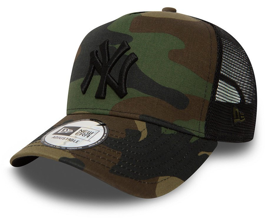 New Era NY Yankees Woodland Camo Clean
