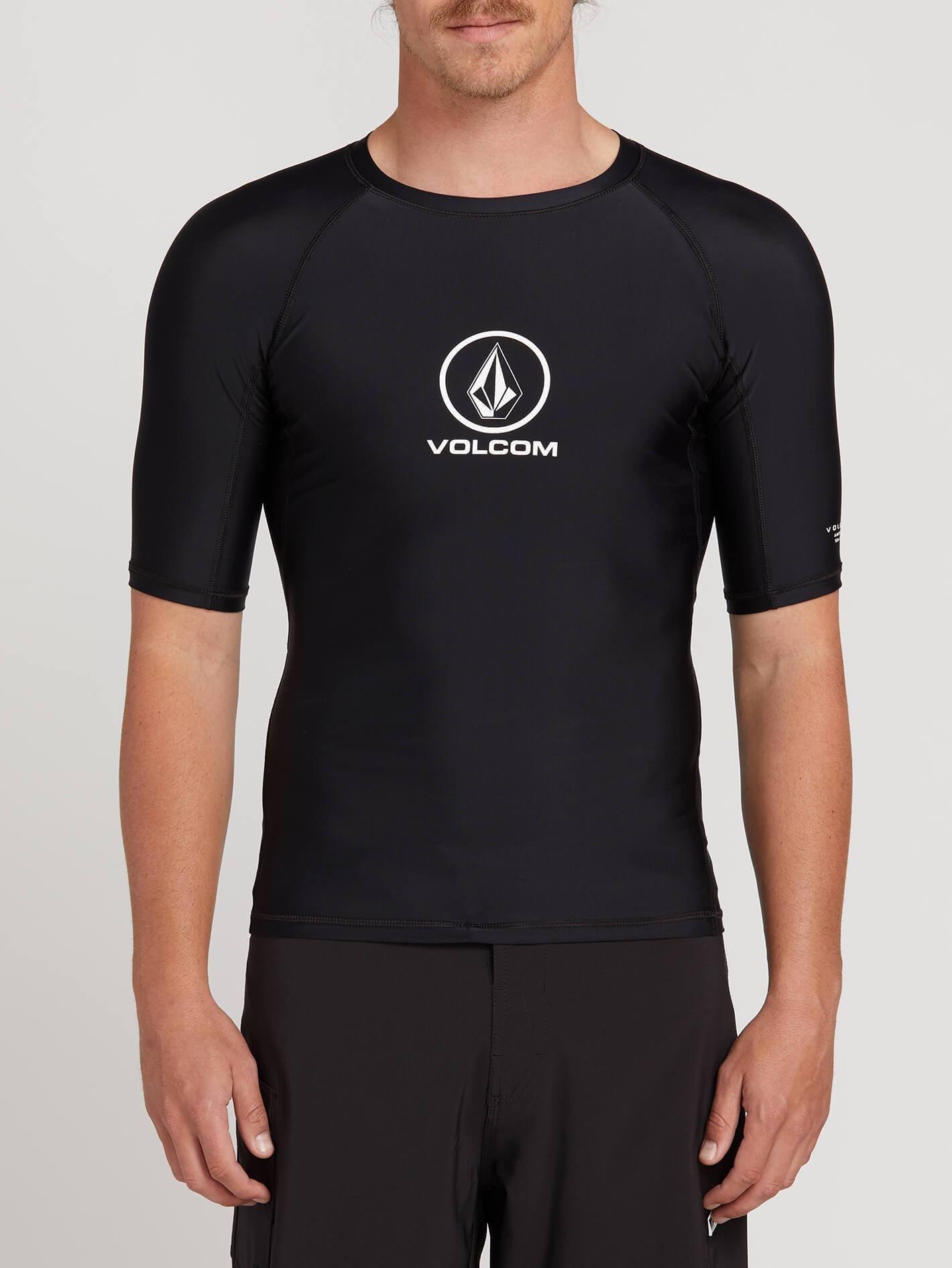 Volcom Lido Solid Short Sleeve Rashguard M
