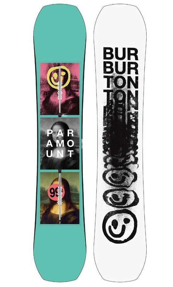 Burton Paramount Camber M 155 cm