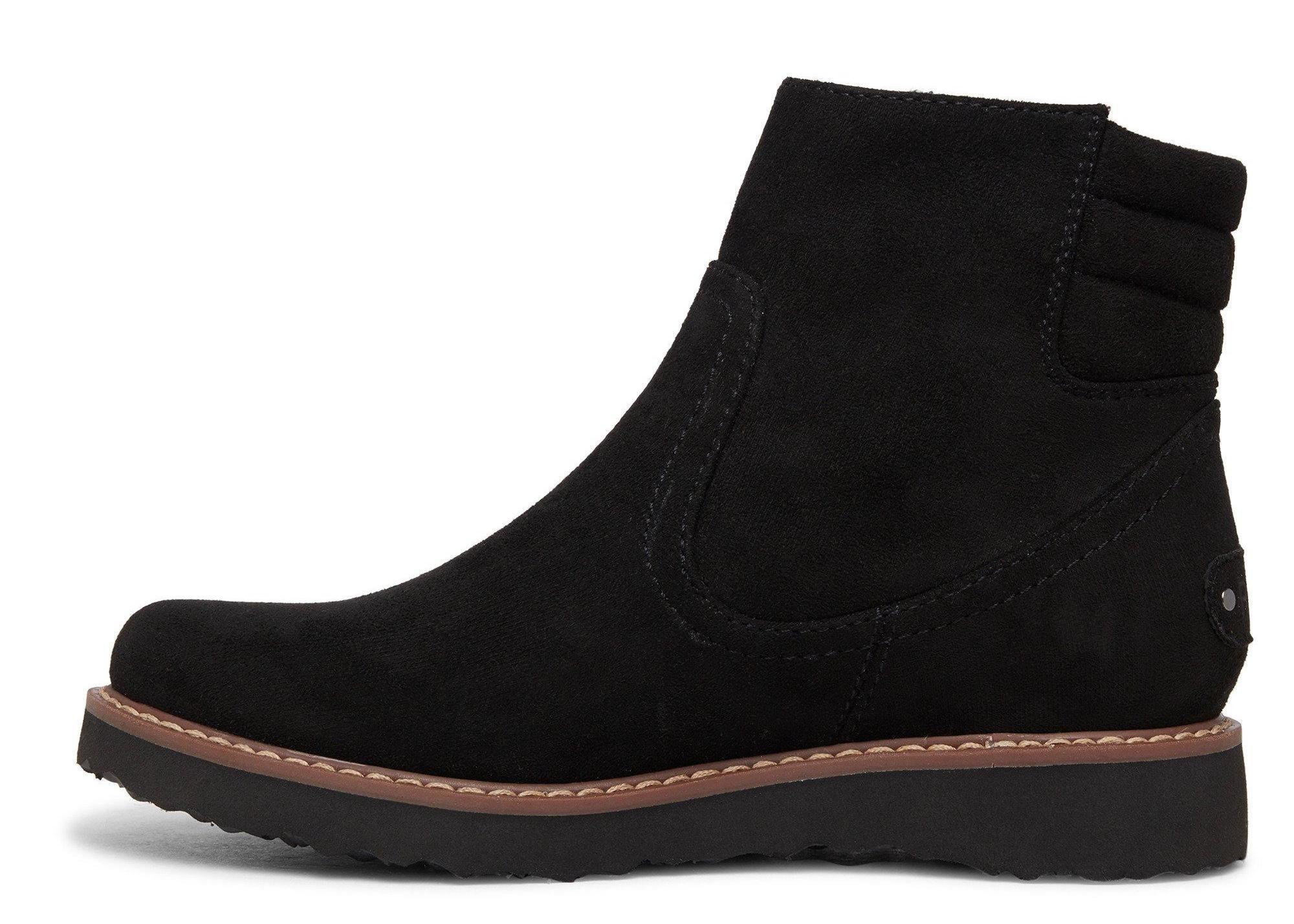 Roxy W Jovie Fur Faux Leather Boots 39 EUR